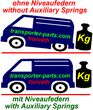 Auxiliary Springs (reinforced helper-springs) VW,...